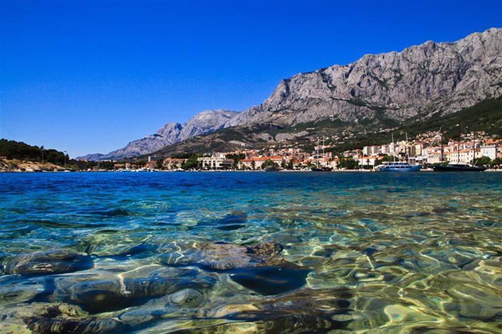 Adriatic sea, Makarska beach, Makarska Riviera